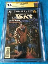 Batman: Shadow of the Bat #22 - DC -CGC SS 9.6 NM+ -Signed by Stelfreeze Blevins