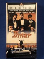 Diner VHS OOP Mickey Rourke,  Kevin Bacon