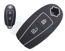 Suzuki Schlüssel Silikon Hülle Ignis Swift Kizashi Vitara Key chiave cle Schwarz