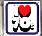 I Love The 70s -The Best Of Seventies Pop & Rock -2 CD (Slade/T-Rex/David Bowie)