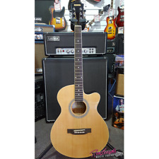 Redding Grand Concert Small Body Acoustic Electric Guitar with Built in Tuner