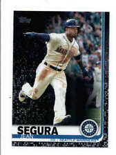 JEAN SEGURA 2019 TOPPS SERIES ONE #21 BLACK PARALLEL #25/67 AX6542