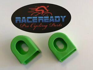 1 pr RACEREADY.....Crank Arm Boots...Bike... fits SRAM / Shimano - Green