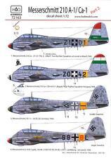 Hungarian Aero Decals 1/72 MESSERSCHMITT Me-210A1 Ca-1 Fighter Part 2