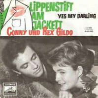 "Conny* Und Rex Gildo Lippenstift Am Jacket 7"" Single Vinyl Schallplatte 45320"