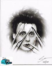 EDWARD SCISSORHANDS - 8 x 10 Art Print by Steve McGinnis - The Bam! Box 10/17