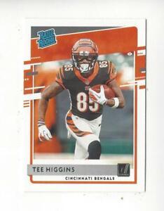 2020 Donruss #310 Tee Higgins RR RC Rookie Bengals