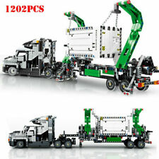 City Container Truck Vehicles Building Blocks Technic Car Bricks 42078 Gifts