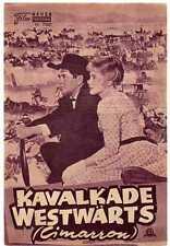 KAVALKADE WESTWÄRTS / NFP 2300 WIEN / GLENN FORD, MARIA SCHELL, ANNE BAXTER