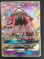 POKEMON card  # TAPU LELE GX # GX MEGA Ultra EX RARA TURBO Carta ITA 60/145