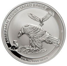 2018-P Australia 1 oz Silver Wedge-Tailed Eagle $1 GEM BU Coin SKU52642