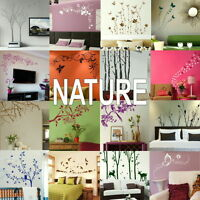 Nature Wall Stickers - Home Art Decor - Self Adhesive Vinyl Transfer / Decal 2