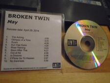 RARE ADV PROMO Broken Twin CD May UNDER BYEN Asteroids Galaxy Tour Tindersticks