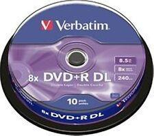 Verbatim DVD+R DL 8.5GB/8X - 10 Pack Spindle