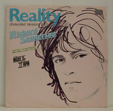 "RICHARD SANDERSON REALITY (RÉALITÉ) PAUL HUDSON I CAN'T SWIM LA BOUM 12"" MAXI"