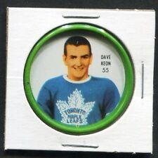 1962-63 DAVE KEON #55 SHIRRIFF/SALADA COINS MAPLE LEAFS