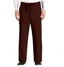 {Lg-R} Grey's Anatomy Men's 6-Pocket Cargo Scrub Pant 0203 Truffle