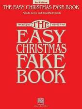 NEW The Easy Christmas Fake Book: 100 Songs in the Key of C (Fake Books)