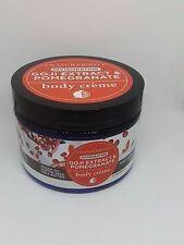 New NATURABODY Invigorating Goji Extract & Pomegranate Body Creme 12 oz / 340G