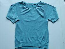 Sweaty Betty Dharana Short Sleeve Yoga Top Size S