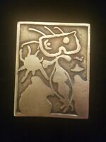 Joan Miro Signed Bronze Relief Femme Pour XX Siecle No. 4 1938 Rare