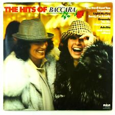 """12"""" LP - Baccara - The Hits Of Baccara - D1077 - cleaned"""