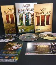 Age of Empires 3 III PC CD-ROM Video Game Microsoft Game Studios Windows
