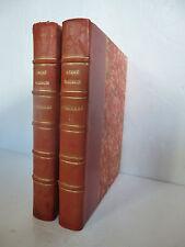 MAUROIS (André). Mémoires I et II. Edition originale. Maison Française, inc 1942