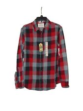 Urban Pipeline Red Plaid Ultimate Flannel Shirt Small Men New