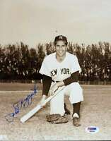 Phil Rizzuto Psa/dna Signed Certified 8x10 Photo Authentic Autograph