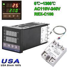 2 Way Alarm Rex C100 Ac 110 240v 01300 Digital Pid Temperature Controller Kits