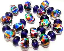"""Sistersbeads """"N-Kaleidiscope"""" Handmade Lampwork Beads"""