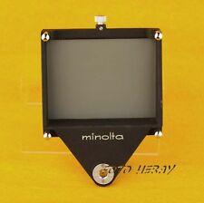 Minolta plaque/panneau/FANION original accessoires pour belgengeräte??? 01690