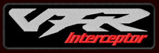 """HONDA VFR INTERCEPTOR EMBROIDERED PATCH ~4-7/8""""x 1-1/2"""" MOTORCYCLE TOURING 800"""