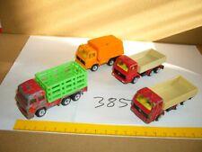 Konvolut Nr. 385 SIKU Mercedes Benz, Iveco, Pritsche, Müllwagen, Viehtransporter