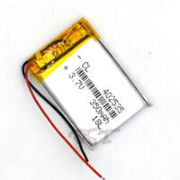 5Pcs 402535 3.7V 350mAh LiPolymer Lipo Cell Rechargeable Battery for MP3 Headset