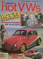 DUNE BUGGIES & HOT VW'S 1984 DEC - NEW VWs, KURT RAMSIERs EARLY COLLECTION*