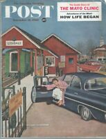 Saturday Evening Post 11-26-1960,Amos Sewell Cover-Flat Tire- Complete Magazine