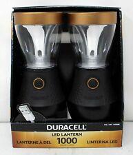 Duracell LED Lanterns Camping Light 1000 Lumens Dimmer Function USB Charging 2pk