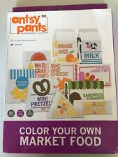 Antsy Pants Color Your Own Play Food Boxes - 18pc
