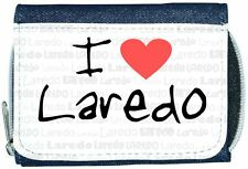 I Love Heart Laredo Denim Wallet