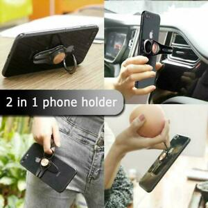 FlipGrip Phone Ring, Vent mount & Stand. Portable always on, with 360 rotation
