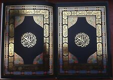ARABIC-ENGLISH THE HOLY QUR'AN QURAN ABDULLAH YUSUF ALI  CALLIGRAPHY SEKERCIZADE