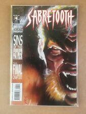 Sabretooth #4 (Dec 1993, Marvel) comic Book In Excellent Condition!