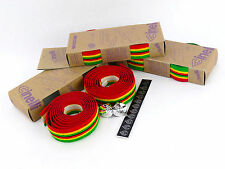 Cinelli handlebar tape RASTA vintage cork Jamaican bar Vintage Bike NOS 3 packs