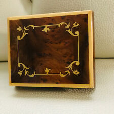 San Francisco Music Box Company Rare Wood Inlay music box from Sorrento, Italy