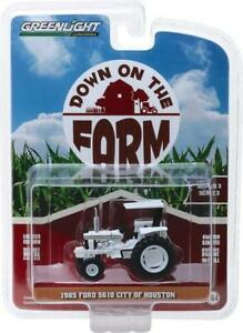 Greenlight 1/64 1985 Ford 5610 Tractor City of Houston Down on the Farm 48030-F