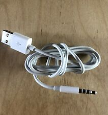 "Apple iPod Shuffle USB Cable (MC003ZM/A) 39"" / 1000 mm Long MINT/USED"
