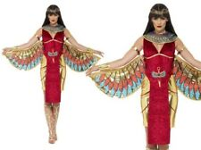 Smiffys Costume Dea Egizia comprende Abito Ali Collare e Copricapo (v2a)