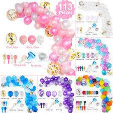 113 Pieces Party Balloon Garland Arch Birthday Wedding Baby Shower Home Decor ❤